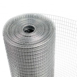 Malla electrosoldada 6x6mm galvanizada 1,003 X 25 mtrs.
