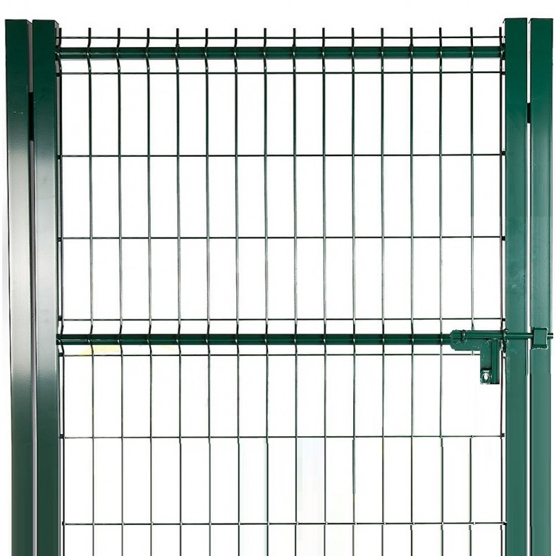 Puerta peatonal para Verja electrosoldada tipo Hércules, de 1m de ancha X 1,5m de alta.