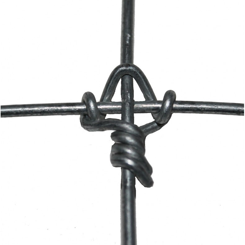 Malla ganadera anudada reforzada. 1,27 m. de alto 127-10-30. Rollo 100mts lineales. Con nudos antideslizantes.
