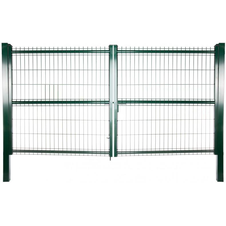 Puerta hércules acceso vehículos. 3m de ancha X 1,5m de alta.