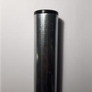 Poste para malla de simple torsión de 2m. de alta. Longitud total 2,40m.