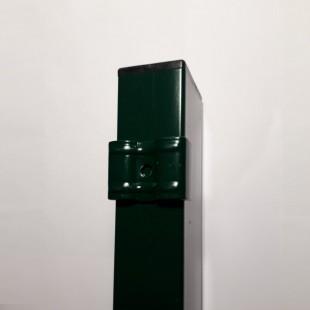 Postes para paneles hércules de 1m. de alto. Longitud total 1,25m. Incluye abrazaderas necesarias y tapa pvc.