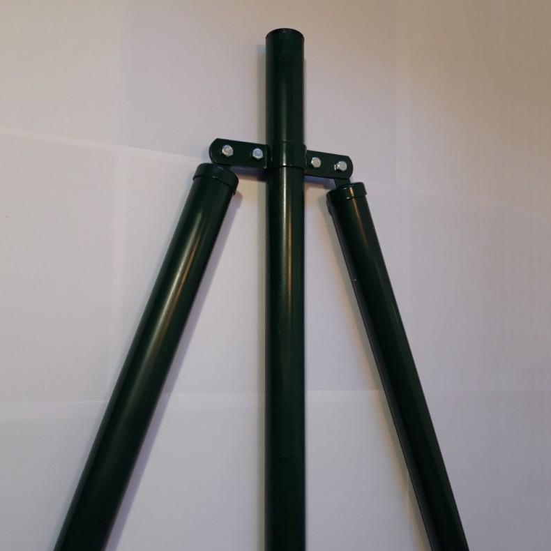 "Poste refuerzo para malla decorativa modelo ""Jarditor"" de 1,5m de alta 1,90m largo  total."