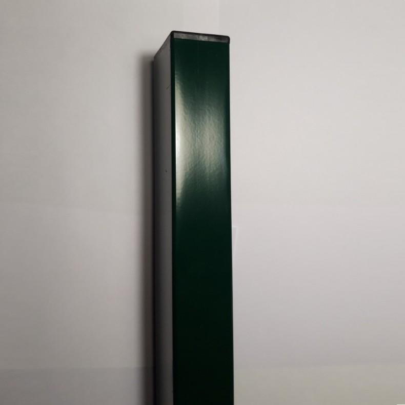 Postes para paneles hércules de 60cm. de alta. Longitud total 85cm. Incluye abrazaderas necesarias y tapa pvc.