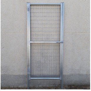 Puerta peatonal de 1m de Ancha X 2m de Alta, para cierres con malla de simple torsión.