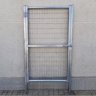 Puerta peatonal de 1m de Ancha X 1,5m de Alta, para cierres con malla de simple torsión.