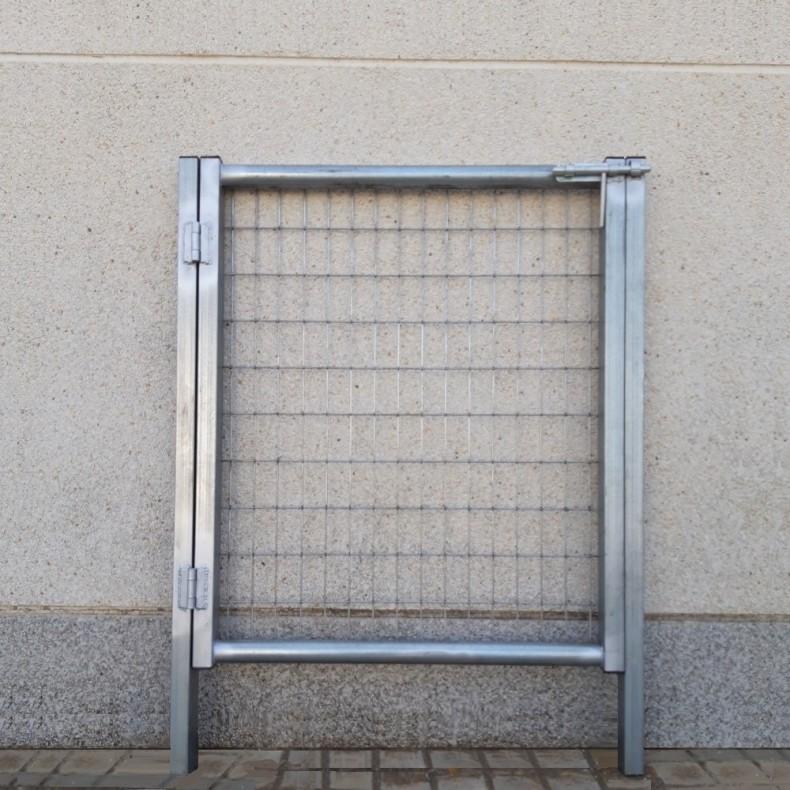 Puerta peatonal de 1m de Ancha X 1m de Alta, para cierres con malla de simple torsión.