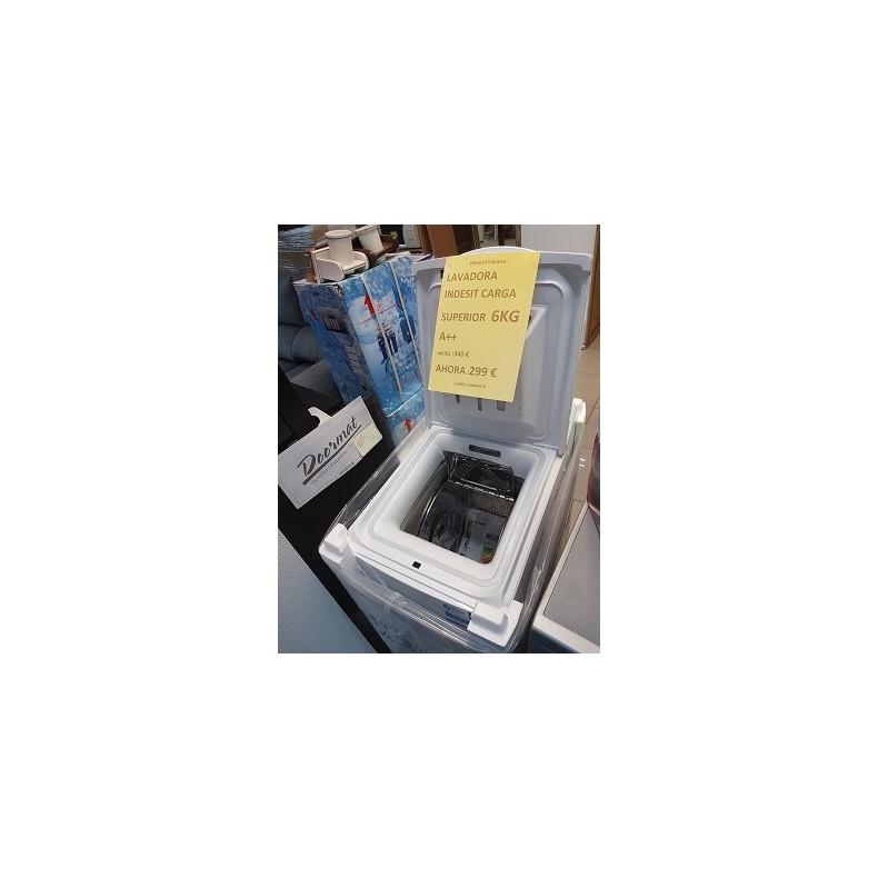 Lavadora nueva marca Indesit de carga superior