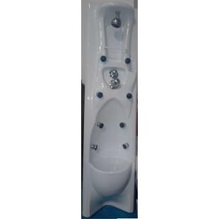 Columna de ducha de hidromasaje nueva.
