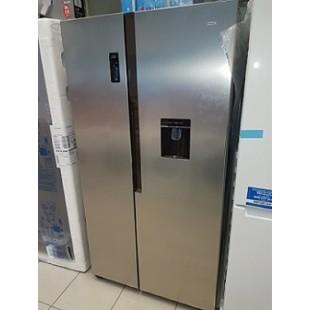 Frigorífico Logik con dispensador de agua, no frost, doble puerta, altura 1,80 m